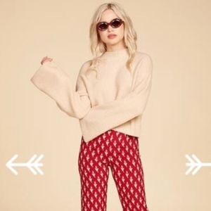 FREE PEOPLE Snuggle Buddy LIMITED EDITION Sweater""